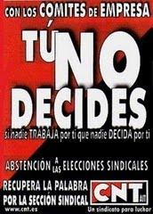 Tu no decides