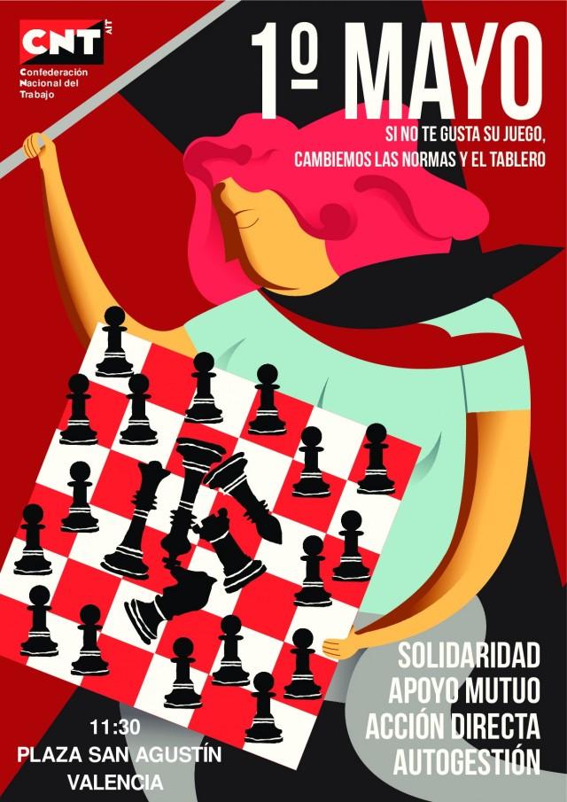 Cartel 1 de Mayo 2013
