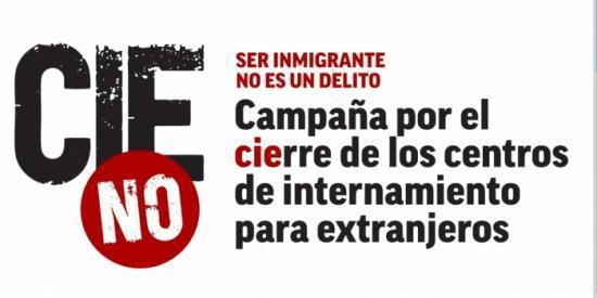 CIES NO,Concentración por el cierre de los CIE's,Valencia la Campaña por el Cierre de los Centros de Internamiento de Extranjeros,CIE de Zapadores,CNT-Valencia,Ningún ser humano es ilegal,Cerremos los CIE's,ADEMUZ ADOR AGULLENT AHILLAS AIELO DE MALFERIT AIELO DE RUGAT ALAQUAS ALBAIDA ALBAL ALBALAT DE LA RIBERA ALBALAT DELS SORELLS ALBALAT DELS TARONGERS ALBERIC ALBORACHE ALBORAYA ALBOY ALBUIXECH ALCANTERA DE XUQUER ALCASSER ALCOTAS ALCUBLAS ALDAIA ALFAFAR ALFARA DE LA BARONIA ALFARA DEL PATRIARCA ALFARP ALFARRASI ALFAUIR ALGAR DE PALANCIA ALGEMESI ALGIMIA DE ALFARA ALGINET ALMARDA ALMASSERA ALMISERA ALMOINES ALMUSSAFES ALPUENTE ALZIRA ANAHUIR ANDILLA ANNA ANTELLA ARAS DE LOS OLMOS ARROYO CEREZO ARTAJ ATZENETA D'ALBAIDA AYACOR AYORA BALDOVAR BARRACA D'AIGUES VIVES BARRACA DE AGUAS VIVAS BARRIO ARROYO BARX BARXETA BELGIDA BELLREGUARD BELLUS BENAGEBER BENAGUASIL BENAVITES BENEIXIDA BENETUSSER BENIARJO BENIATJAR BENICOLET BENICULL DE XUQUER BENIFAIO BENIFAIRO DE LA VALLDIGNA BENIFAIRO DE LES VALLS BENIFARAIG BENIFLA BENIGANIM BENIMAMET-BENIFERRI BENIMODO BENIMUSLEM BENIPARRELL BENIRREDRA BENISANO BENISSODA BENISUERA BERFULL BETERA BICORP BOCAIRENT BOLBAITE BONREPÒS I MIRAMBELL BORBOTO BUFALI BUGARRA BUÑOL BURJASSOT CALDERON CALLES CAMPO ARCIS CAMPO DE ABAJO CAMPO DE ARRIBA CAMPORROBLES CANALS CANET D'EN BERENGUER CAÑADA SECA  CARCAIXENT CARCER CARLET CARPESA CARRICOLA CASAS ALTAS CASAS BAJAS CASAS DE CUADRA CASAS DE EUFEMIA CASAS DE MADRONA CASAS DE MOYA CASAS DE PRADAS CASAS DE SOTOS CASAS DEL REY CASAS DEL RIO CASINOS CASTELLAR-OLIVERAL CASTELLO DE RUGAT CASTELLONET DE LA CONQUESTA CASTIELFABIB CASTILBLANQUES CATADAU CATARROJA CAUDETE DE LAS FUENTES CERDA CHELLA CHELVA CHERA CHESTE CHIVA CHULILLA   COFRENTES COGULLADA CONTRERAS CORBERA CORCOLILLA CORTES DE PALLAS COTES CRUZ DE GRACIA CUESTA DEL RATO CULLERA DAIMUS DOMEÑO DOS AGUAS EL AZAGADOR EL BROSQUIL EL CHOPO EL COLLADO EL DERRAMADOR EL DOSEL EL ESTANY EL HONTANAR EL MARENYET EL MORQUI EL ORO EL PALMAR EL PALOMAR 