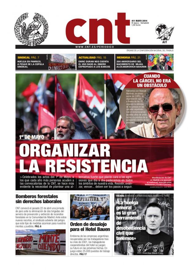 Periódico CNT 411 - Mayo 2014