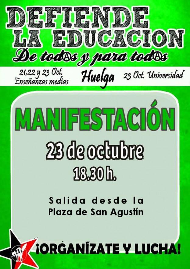 cartel-huelga-enseñanza