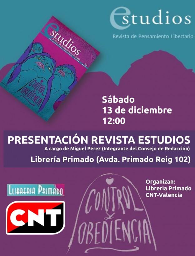 Cartel Presentación Revista Estudios