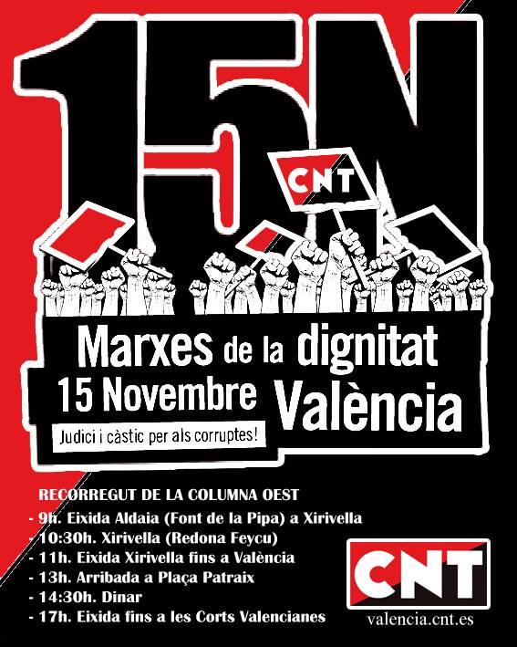 cartel 15n marchas dignidad