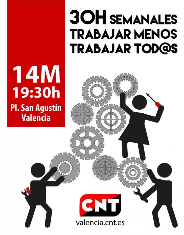 30h Semanales, Manifestación 14m v2
