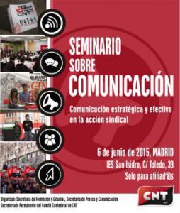 cartel seminario comunicacion