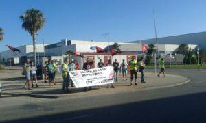 CNT convoca una concentración en Ford Almussafes exigiendo la readmisión del Delegado despedido en QSP