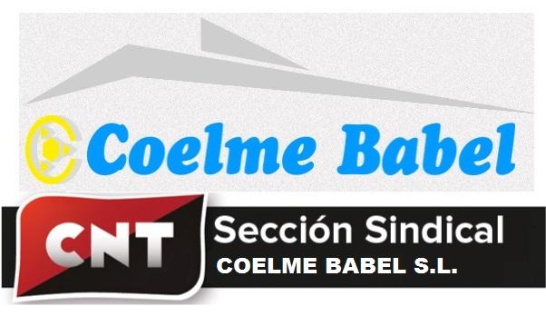 CNT convoca movilizaciones contra Coelme Babel por la aplicación de un ERTE injustificado