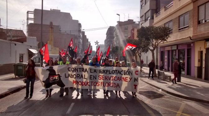 El TSJ de la Comunidad Valenciana condena a Servicarne por vulnerar la libertad sindical de tres cooperativistas afiliados al sindicato CNT