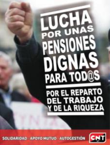 Sobre el saqueo de las pensiones y el oportunismo de CCOO y UGT