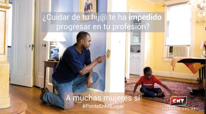 ¿Te imaginas que para cuidar de tu hijo/a tuvieras que renunciar a seguir progresando en tu profesión?: Muchas de nosotras sí