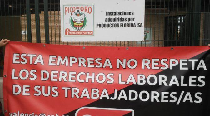 CNT abre conflicto sindical contra Servicarne y Productos Florida SA