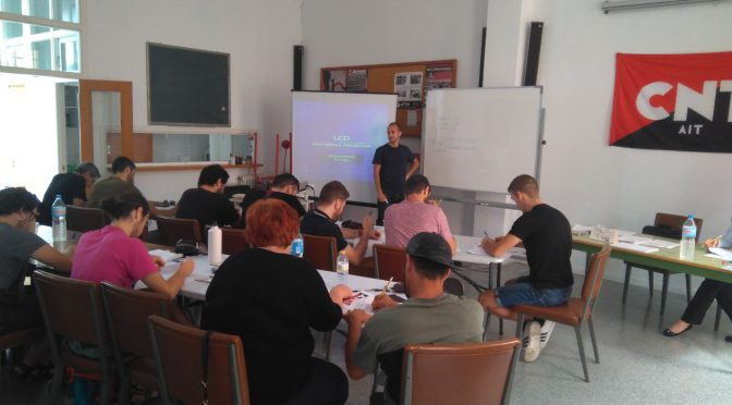 [CRÓNICA] Celebrado el curso de Formación Laboral organizado por CNT-València