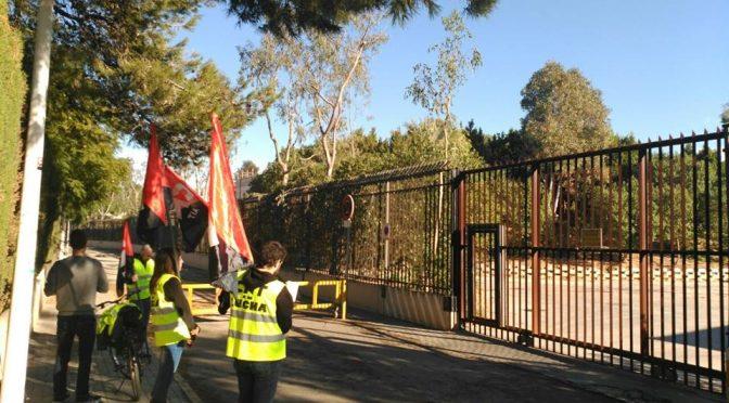 CNT hace públicos los resultados de la encuesta realizada a la plantilla  del Bioparc Valencia