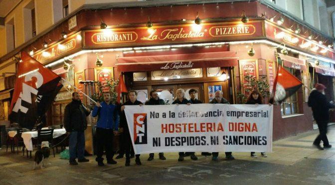 CNT denuncia que siete de cada diez trabajadores de la hostelería valenciana no están dados de alta en la Seguridad Social por todas las horas que realizan