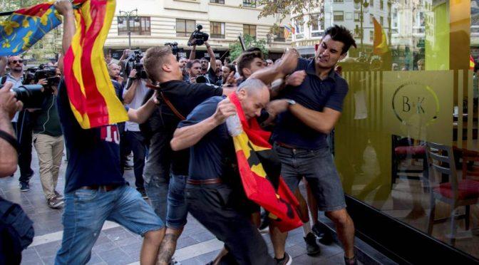 CNT condemna els atacs feixistes que s'han produït a València i exigeix la dimissió del Delegat del Govern