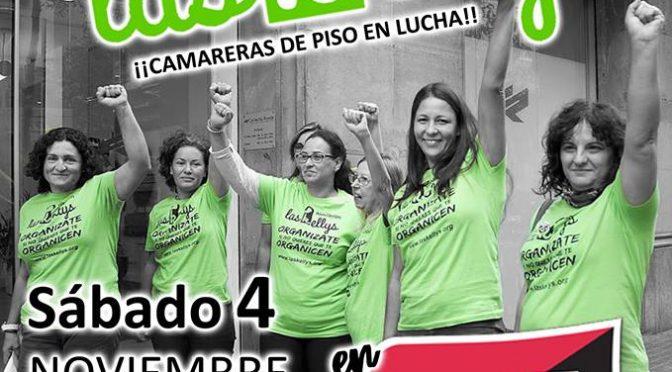 Las Kellys participarán en una charla informativa en la ciudad de Valencia