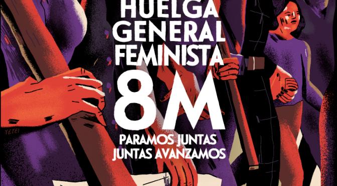 CNT hace un llamamiento a participar actívamente en los actos convocados durante la huelga 8M en València