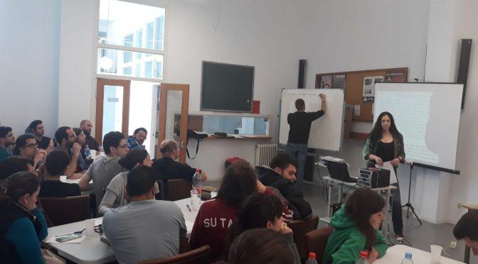 Alta participación en el curso de formación de CNT València para la Acción Sindical