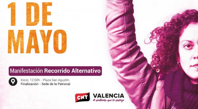 [Manifestación] CNT celebrará un Primero de Mayo enmarcado en la lucha feminista dentro del mundo sindical