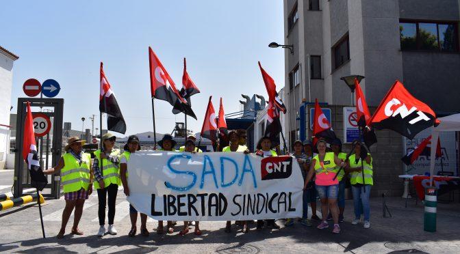 CNT demanda a SADA por despedir a una decena de huelguistas en la planta de Sueca