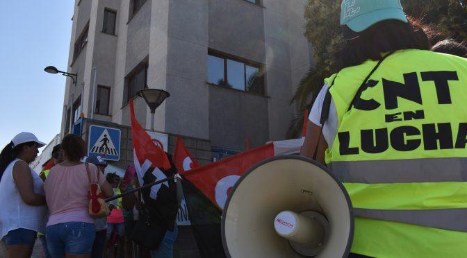 La huelga indefinida de CNT en SADA alcanza su décimo día con un importante seguimiento