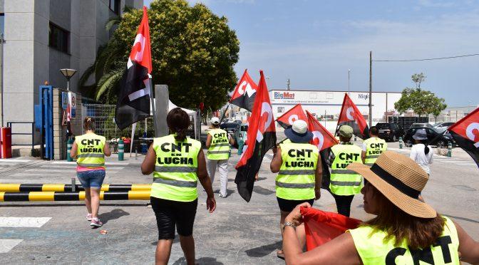 CNT denuncia a SADA por vulnerar gravemente el derecho de huelga