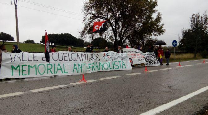 CNT calienta motores para la Marcha al Valle de los Caídos del 20 de abril de 2019