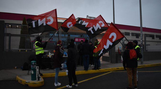 CNT demanda a Frescos Delisano por vulnerar el derecho de huelga durante la jornada del 8-M