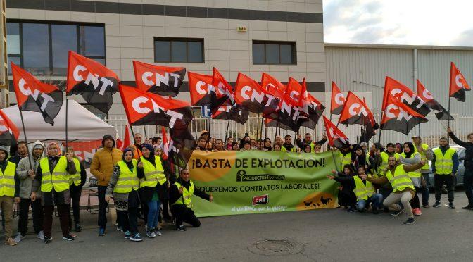 La exitosa huelga de CNT en Productos Florida consigue sus principales objetivos
