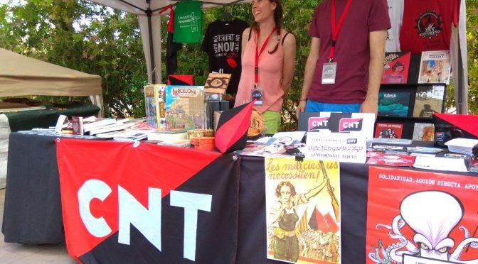 Visita el stand de CNT en la Fira Alternativa de València 2019