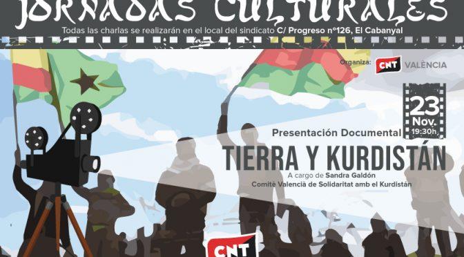 CNT València centra sus Jornadas Culturales 2019 en la defensa de los derechos humanos y la solidaridad internacional
