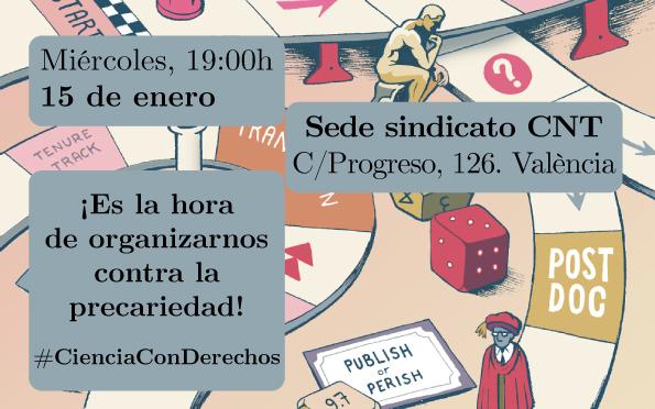Convocatoria de la II Asamblea del Sector Científico de València
