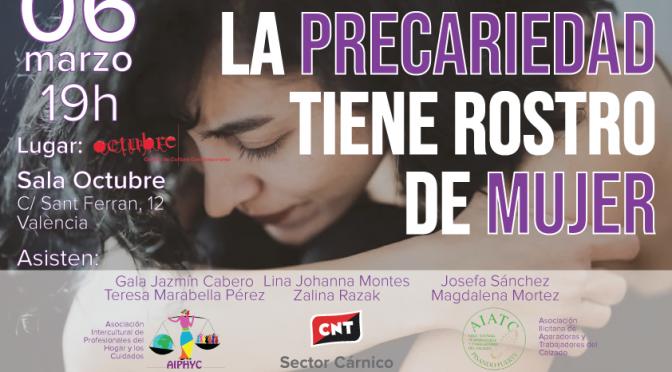 """[6M] Mesa-debate """"La precariedad tiene rostro de mujer"""""""