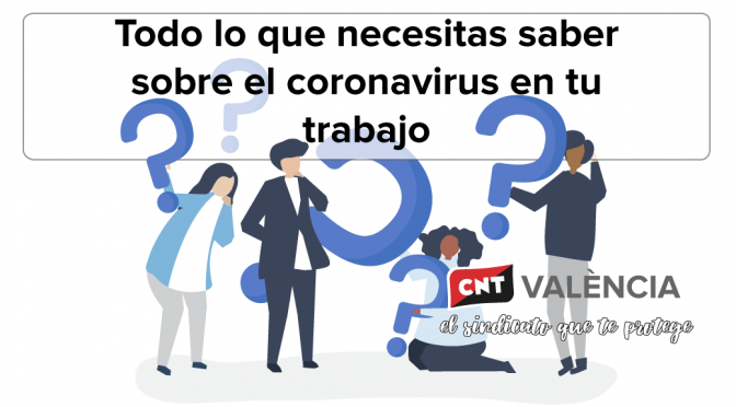 Todo lo que necesitas saber sobre el coronavirus en tu trabajo