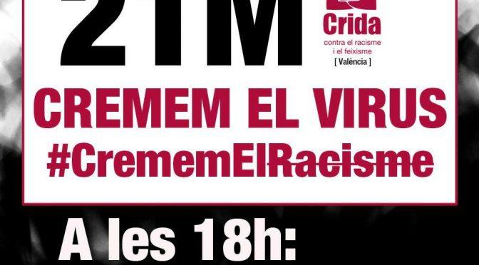 "MANIFEST 21M ""València contra el Racisme"""