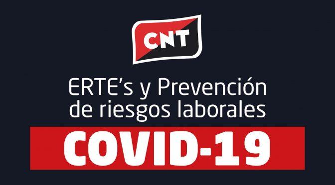 [Descarga] Guía completa sobre ERTE's y Prevención de Riesgos por el COVID19