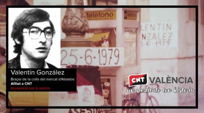 [25J] Recordem al nostre company Valentín González