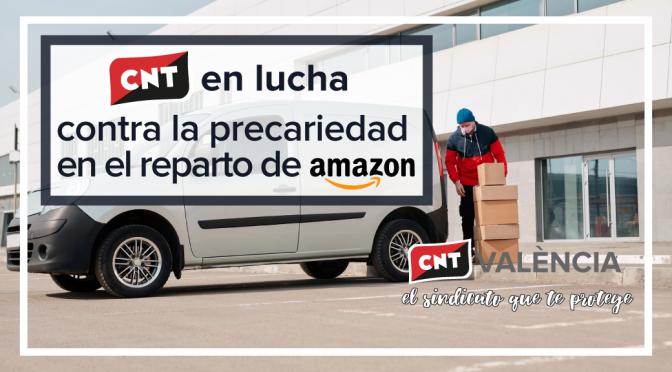 CNT Valencia denuncia a INSTAPACK y AMAZON por cesión ilegal de trabajadores